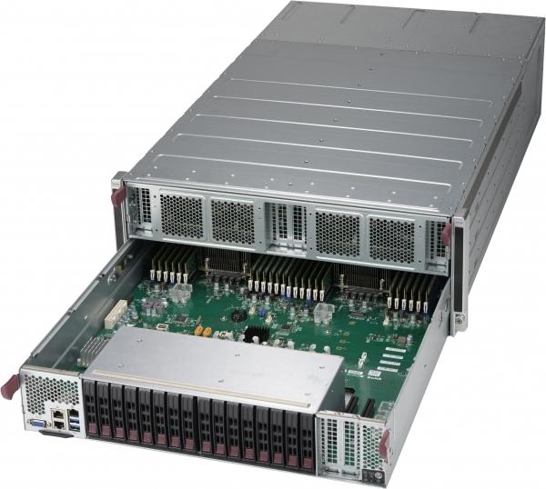 Supermicro 4029GP-TXRT + X11DGO-T 2-Xeon 8-GPU SXM2 4U