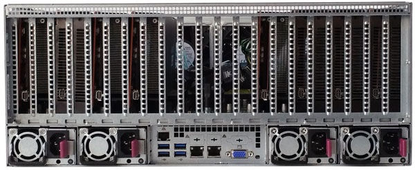 Supermicro 2-Xeon 6049GP-TRT 20x Tesla T4 24x HS 3 5