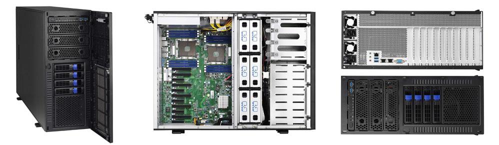 Inside Images of Unique Custom Built Computers